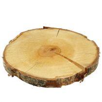 Dekorativa träskivor och bark