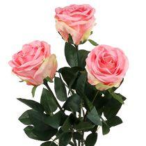 Skumros & dekorativa rosor