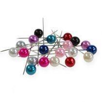 Pärlnålar och pärlor