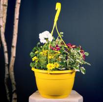 Blommatrafikljus 25cm vit