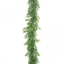 Konstgjord växtkrans, buxbom, dekorativ grön L125cm