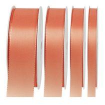 Present- och dekorationband 50m aprikos