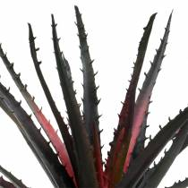 Aloe Vera konstgjord lila 26cm