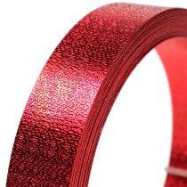 Aluminiumband platt tråd röd 20mm 5m