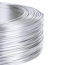 Aluminiumtråd 1mm 500g silver