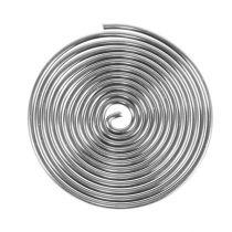 Trådskruv metallskruv silver 2mm 120cm 2st