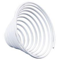 Aluminiumtrådskruv metallskruv vit 2mm 120cm 2st
