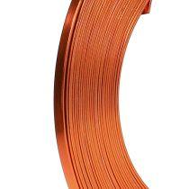 Orange ståltråd orange 5mm 10m