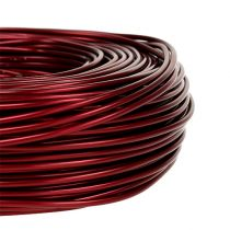 Aluminiumtråd Ø2mm 500g 60m Bordeaux