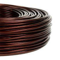 Aluminiumtråd Ø2mm 500g 60m brun