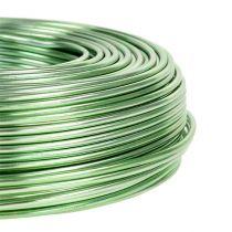 Aluminiumtråd Ø2mm 500g 60m mintgrön