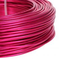 Aluminiumtråd Ø2mm Pink 60m 500g