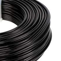Aluminiumtråd Ø2mm 500g 60m svart