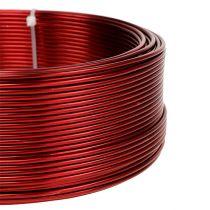 Aluminiumtråd röd Ø2mm 500g (60m)