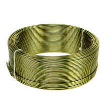 Aluminiumtråd Ø2mm olivgrön 500 g (60 m)