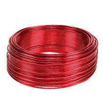 Aluminiumtråd röd Ø2mm 500g 60m