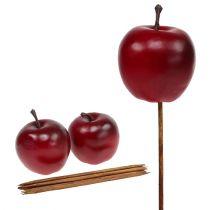 Konstgjord äppelröd Ø5,5cm 12st