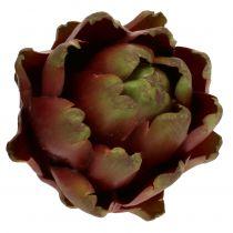 Kronärtskockbrun, grön Ø10cm H11cm