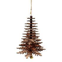 Träd för att hänga koppar med klocka 40cm