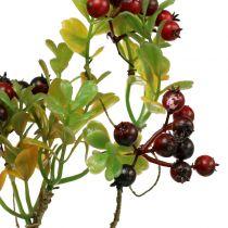 Konstgjord bärgren cotoneaster röd 50 cm 2st