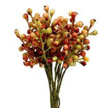 Bärgren röd / gul 20 cm 12st