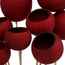 Bell Cup Mix på en pinne mörkröd 15st