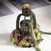 Blommor med krans i olika storlekar