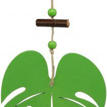 Blad 14,5 cm för att hänga grönt