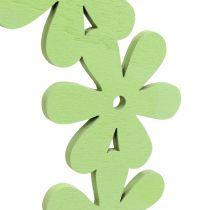 Blomma kransved i grön Ø35cm 1p