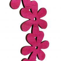 Blomma kransved i rosa Ø35cm 1p