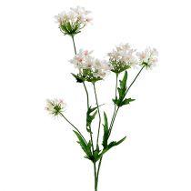Blommande gren vit L70cm