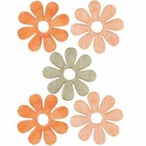 Blommor att strö, vårdekoration, träblommor, strö dekorationsblommor 144St