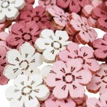 Spridda körsbärsblommor, vårblommor, bordsdekorationer, träblommor för att sprida 144St