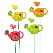 Flower plug vattenkanna färgrik trädgård plug vårdekoration 16st