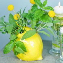 Blomma vas dekoration citron vas keramisk sommar dekoration H11.5cm