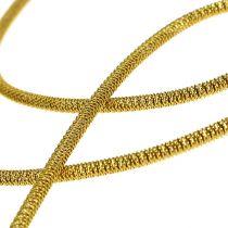 Buljongtråd Ø2mm 100g guld
