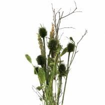 Vildblommabukett naturlig, grön 25–60cm 70g