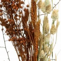 Vildblommabukett natur, orange 25–60cm 65g