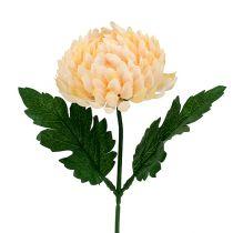 Krysanthemum persika konstgjord Ø7cm L18cm