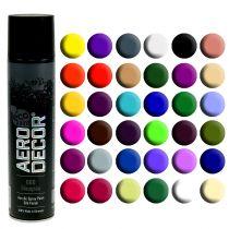 Färg spraysilke matt olika färger 400 ml