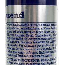 Color-Spray Metallic glänsande silver 400ml