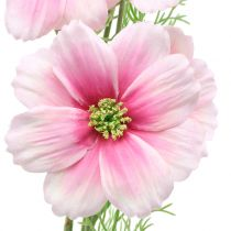 Cosmea konstgjord rosa 77cm 3st