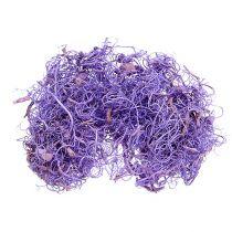 Lockig mossa ljus violet 350g