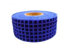 Gitterband 4,5 cm x 10 m blått