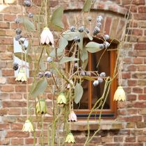 Dekorativ galge metall blommor tulpan 6 cm 3st