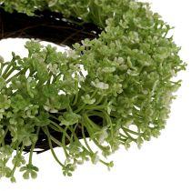 Dekorativ kransgrön Ø25cm
