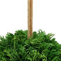 Konstgjord växtkula för hängande grön Ø20cm