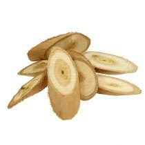 Dekorativa träskivor ovala 9-12 cm 500 g