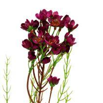 Dekorativ gren med blommor Erika 80cm 3st