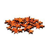 Trestjärnor blandar orange för att strö 3-5 cm 72 st